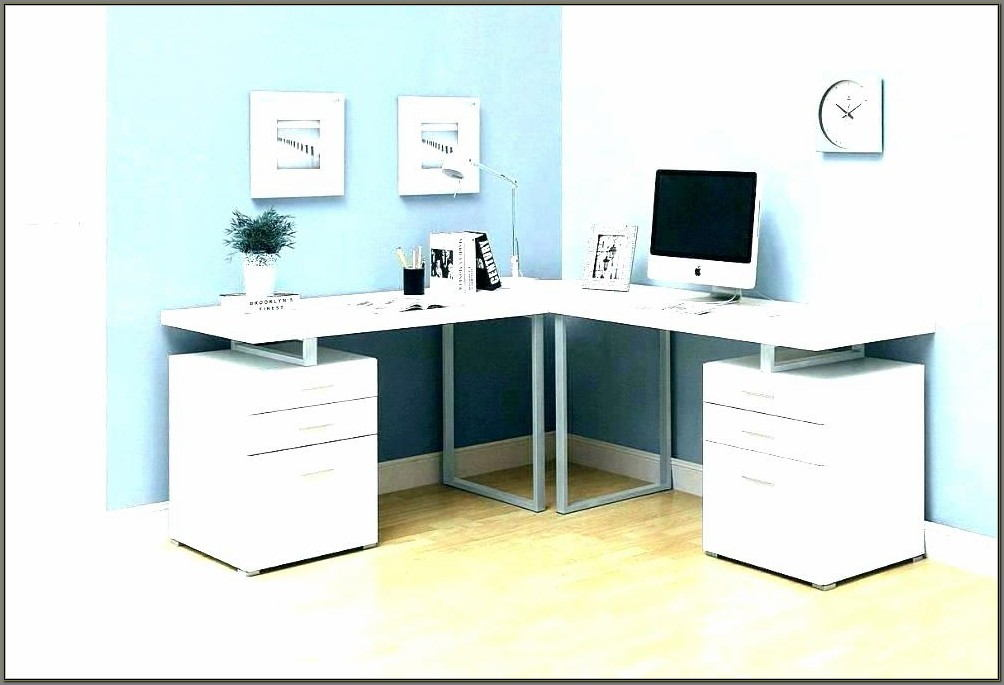 Corner Desk With Drawers And Shelves