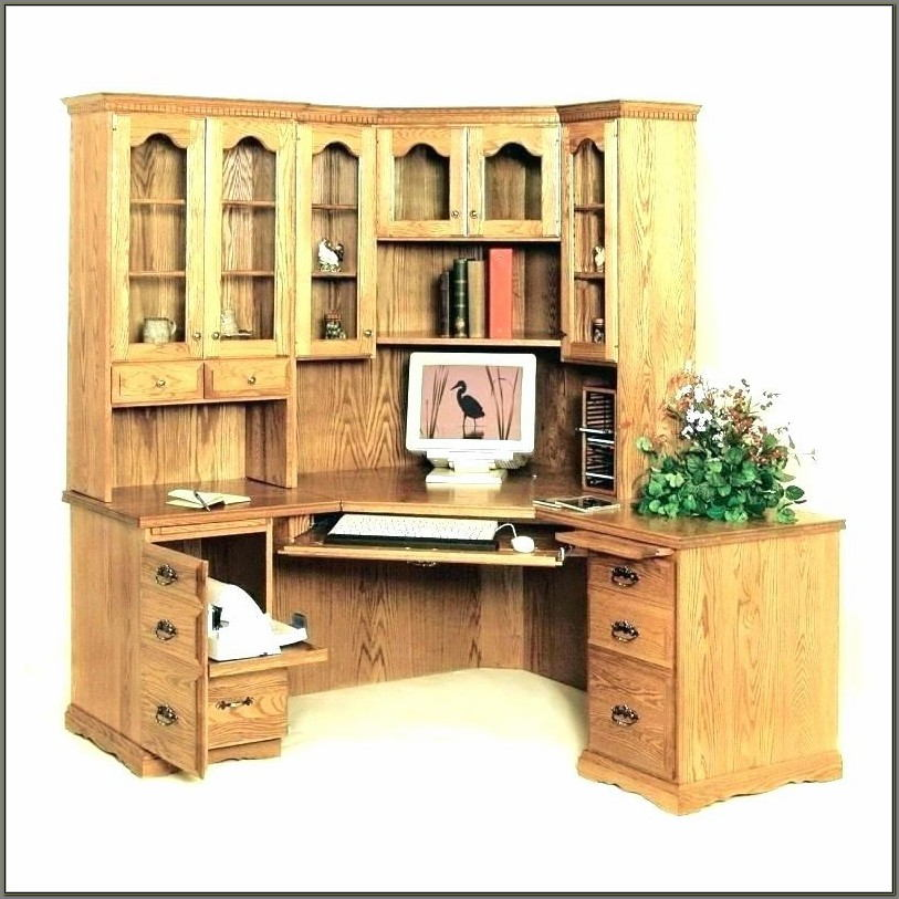 Corner Desks With Hutch