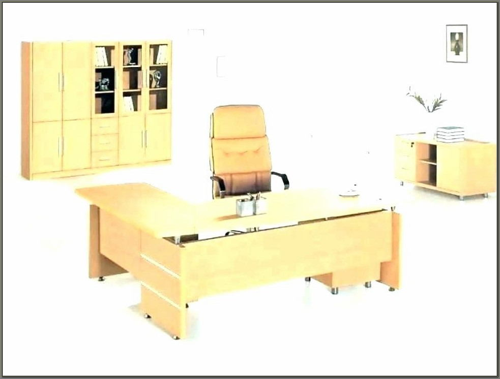 Corner Home Office Desks With Hutch