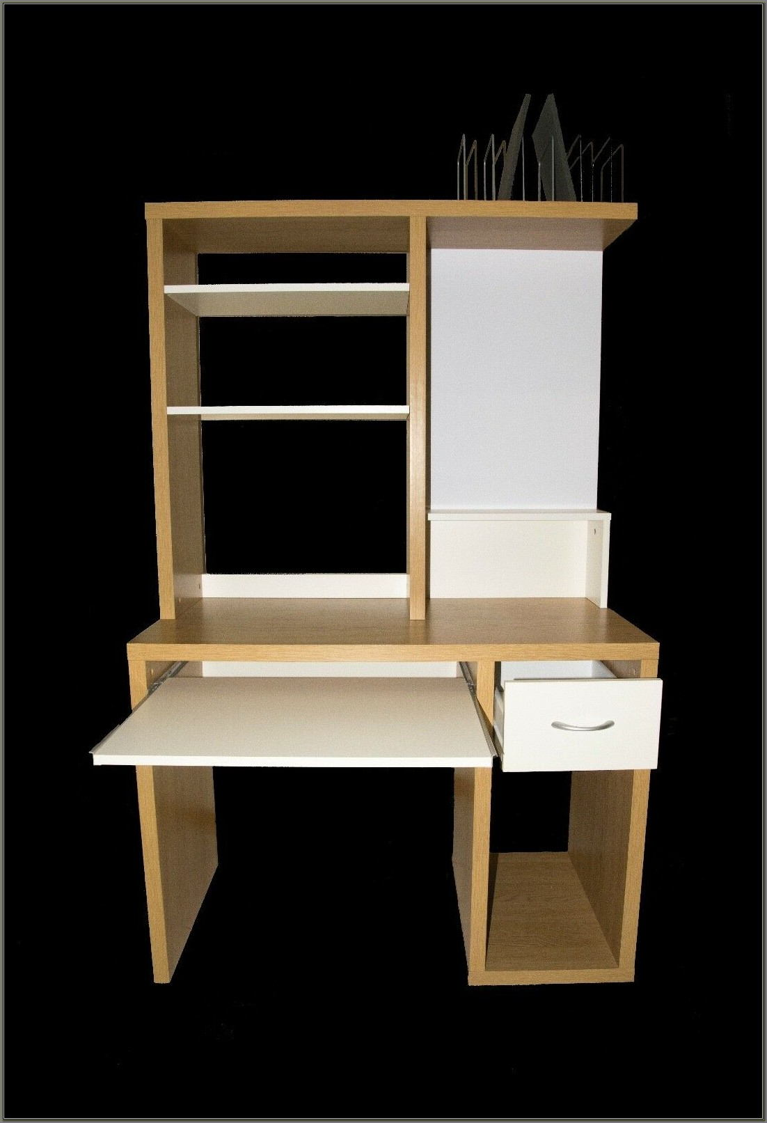 Corner Workstation Desk With Hutch