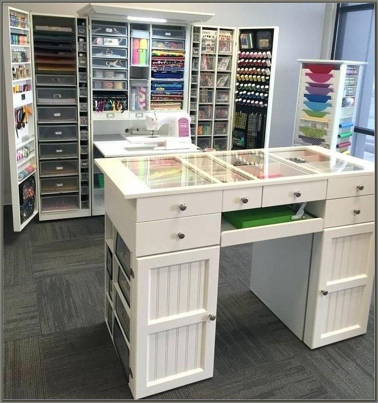 Craft Desk With Storage Ikea