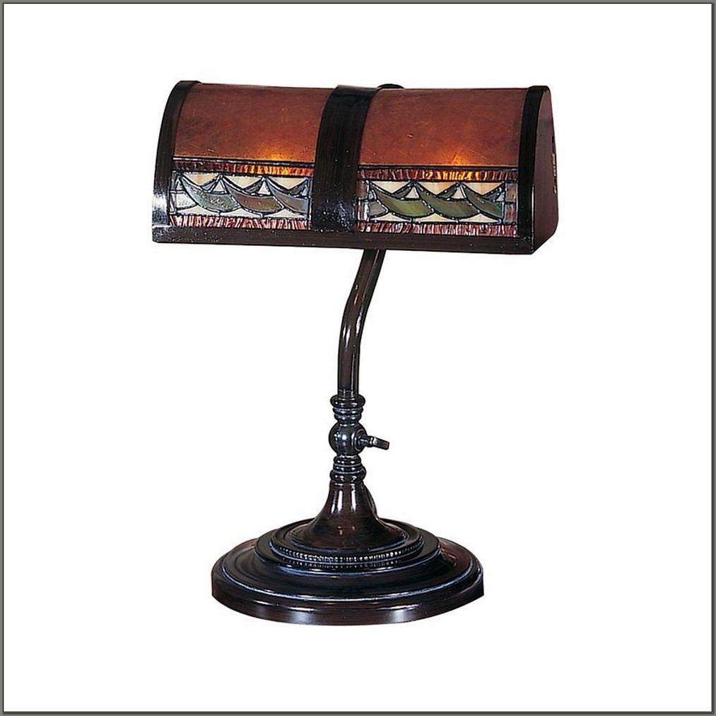 Dale Tiffany Desk Lamp