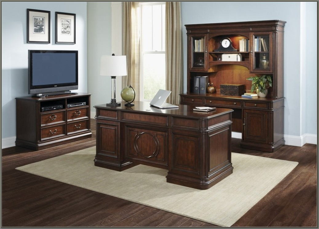 Desk And Credenza Home Office