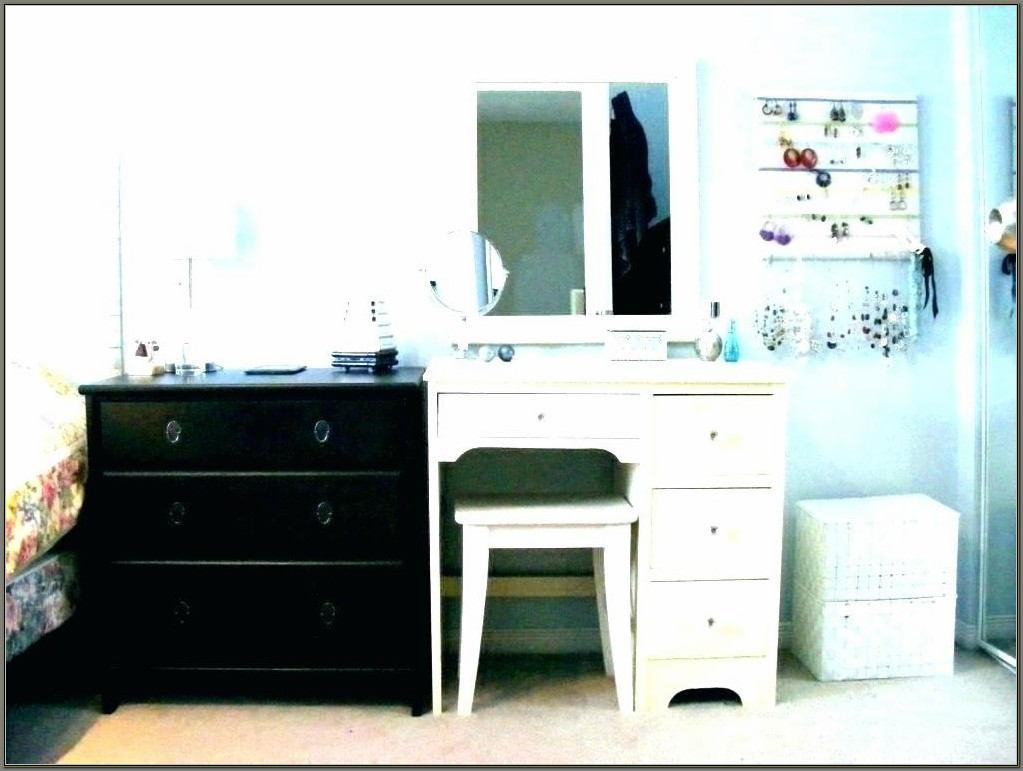 Desk And Vanity Combo