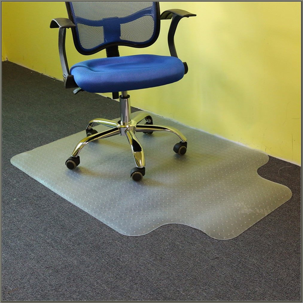 Desk Chair Carpet Protector Mat
