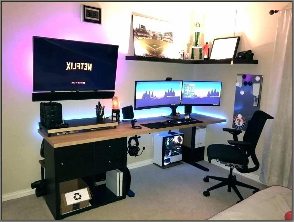 Desk For Triple Monitor Setup