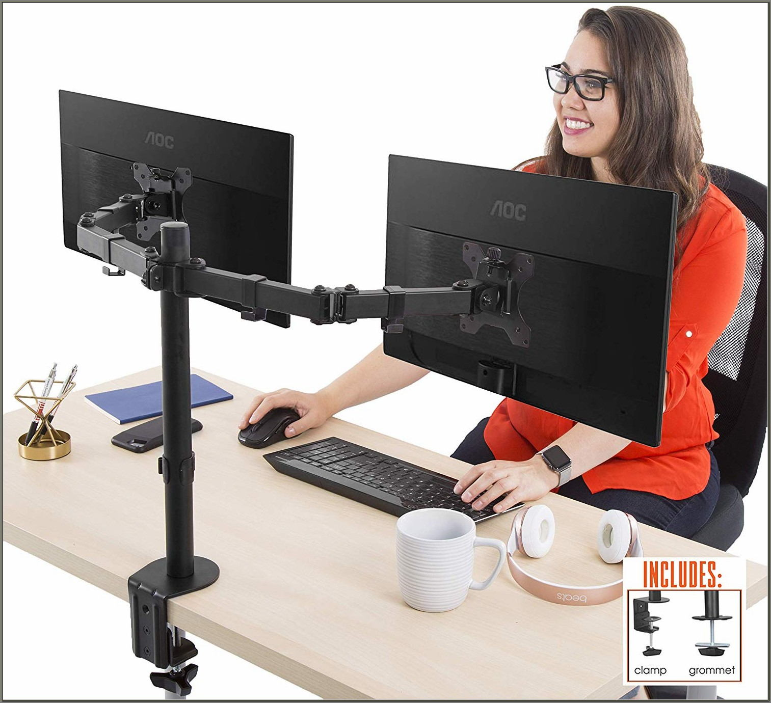 Desk Mount Monitor Stand