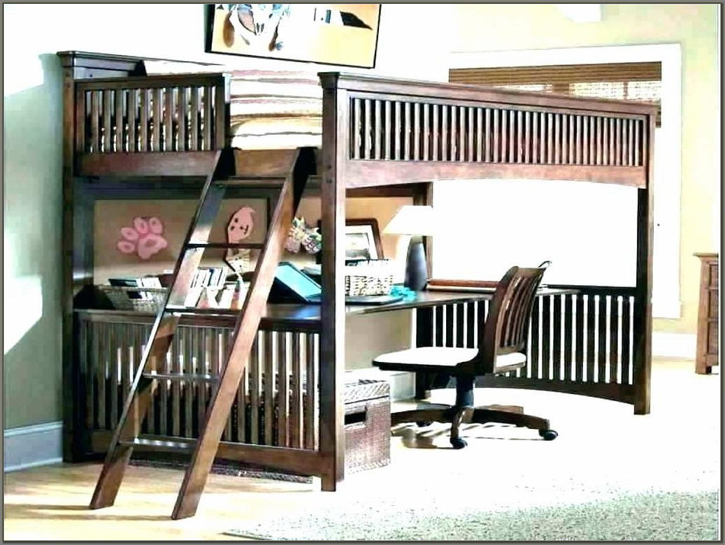 Desk Under Bunk Bed