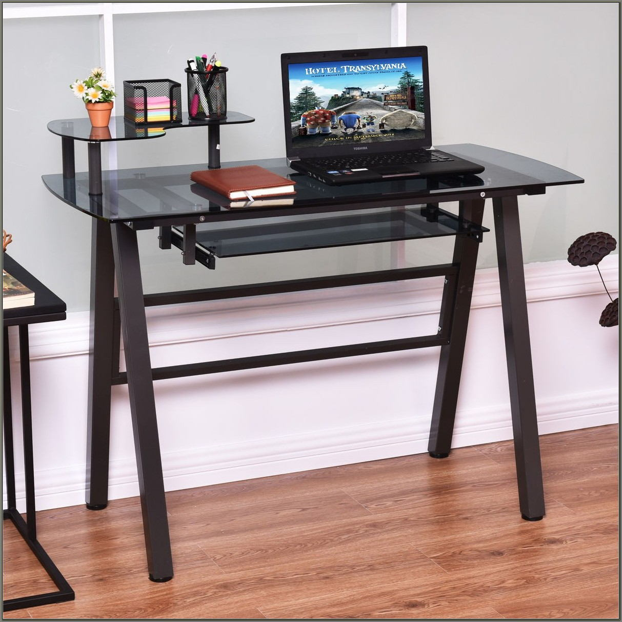Desk With Printer Shelf
