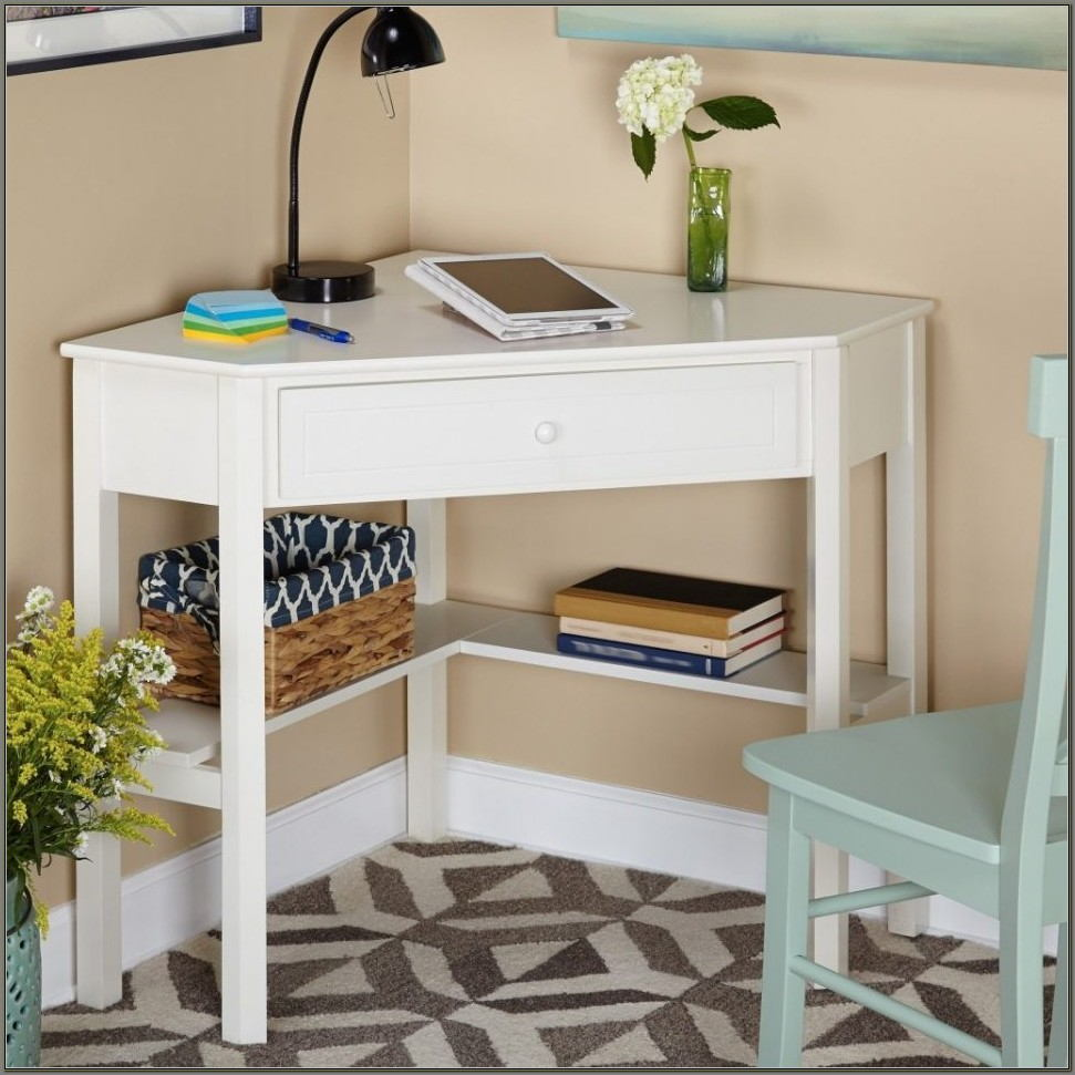 Desks For Small Spaces White