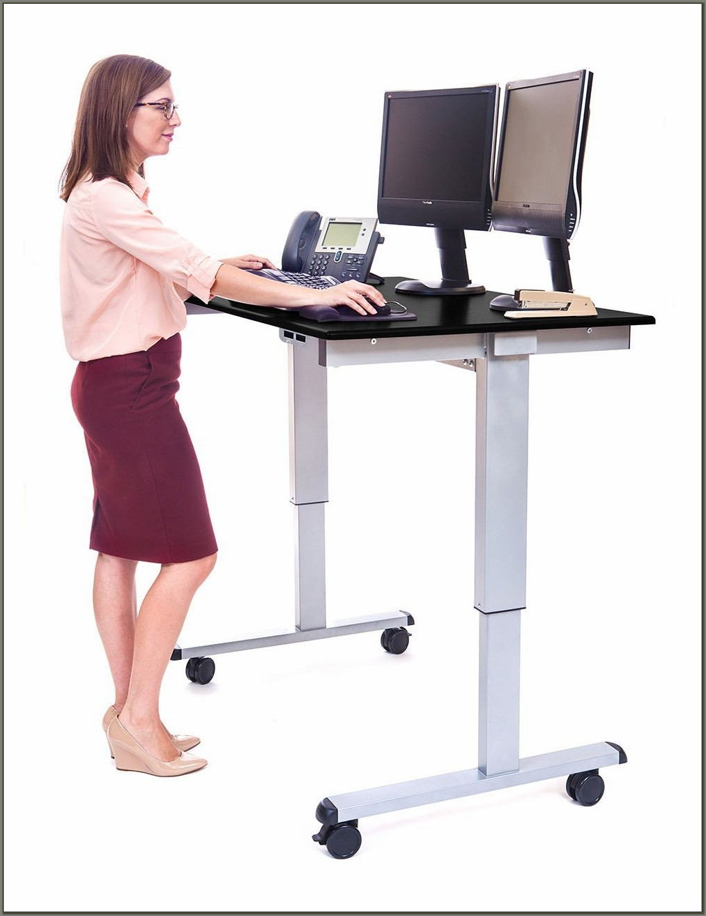 Desks That Raise And Lower Electric