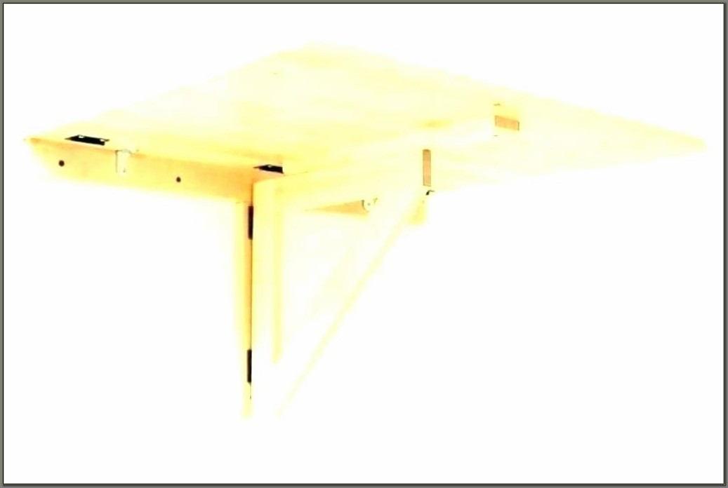 Diy Wall Mounted Folding Desk