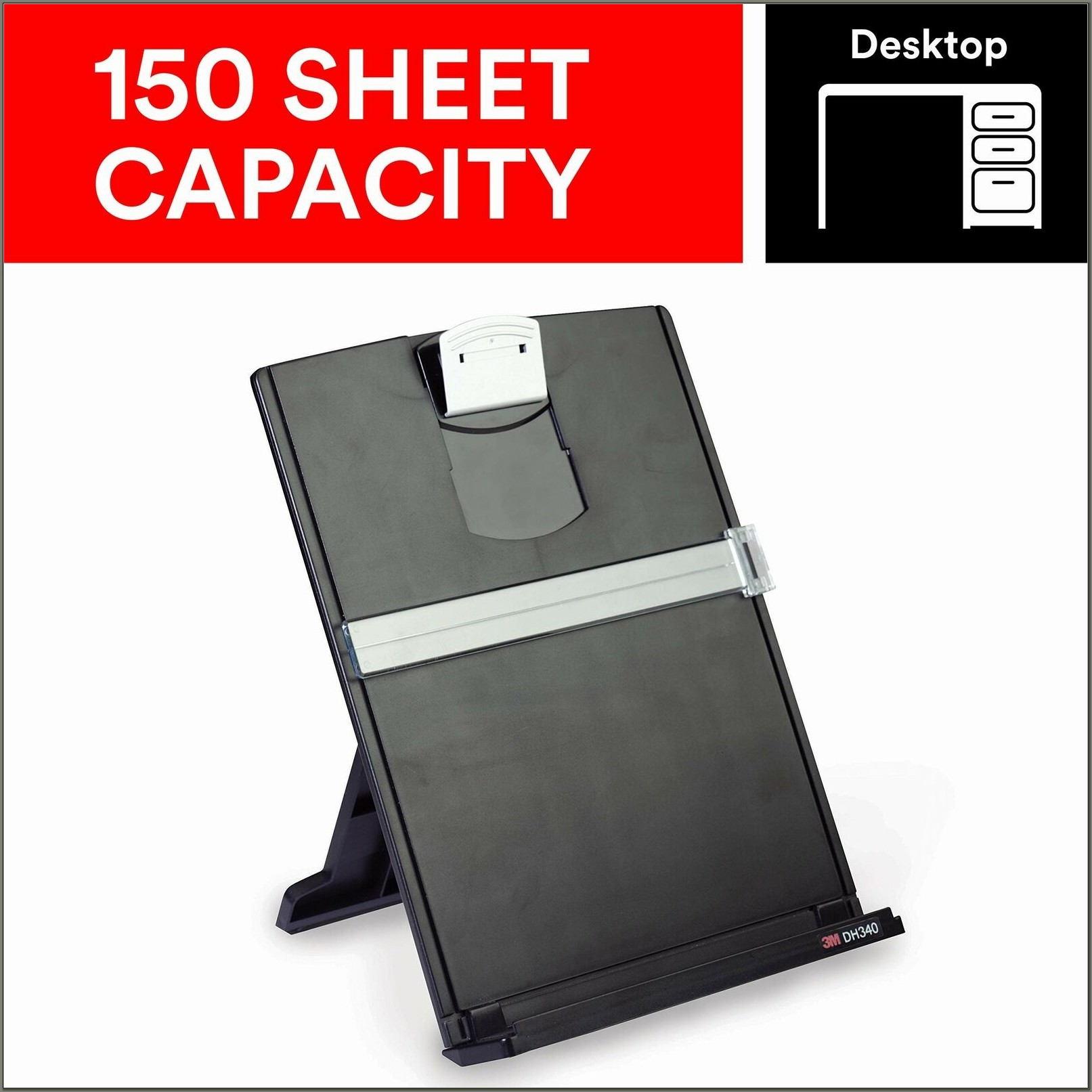 Document Holder For Desktop
