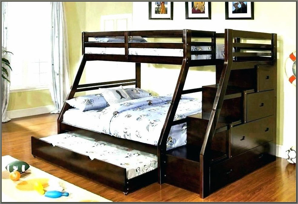 Double Bunk Beds With Desk