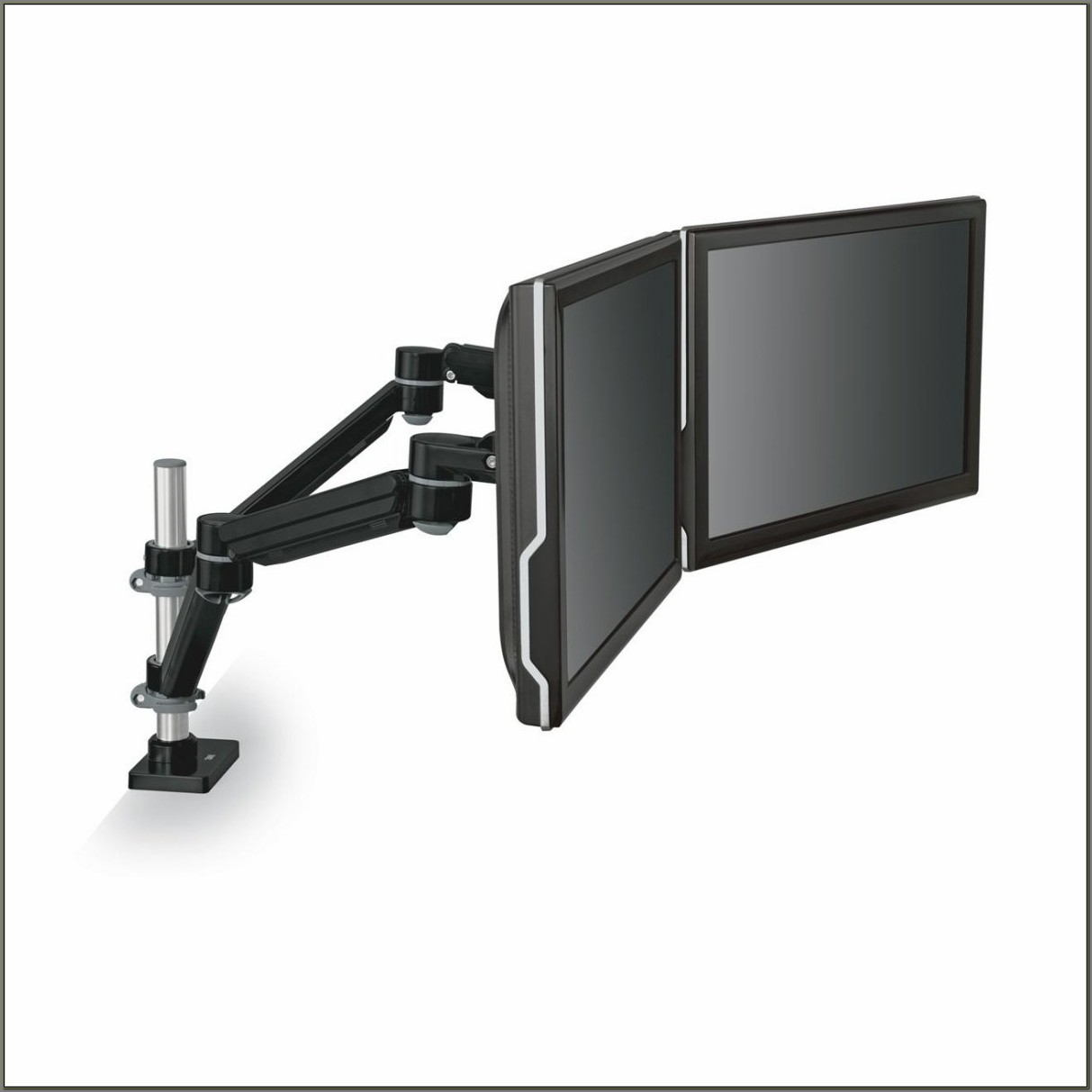 Dual Monitor Arm Desk Mount