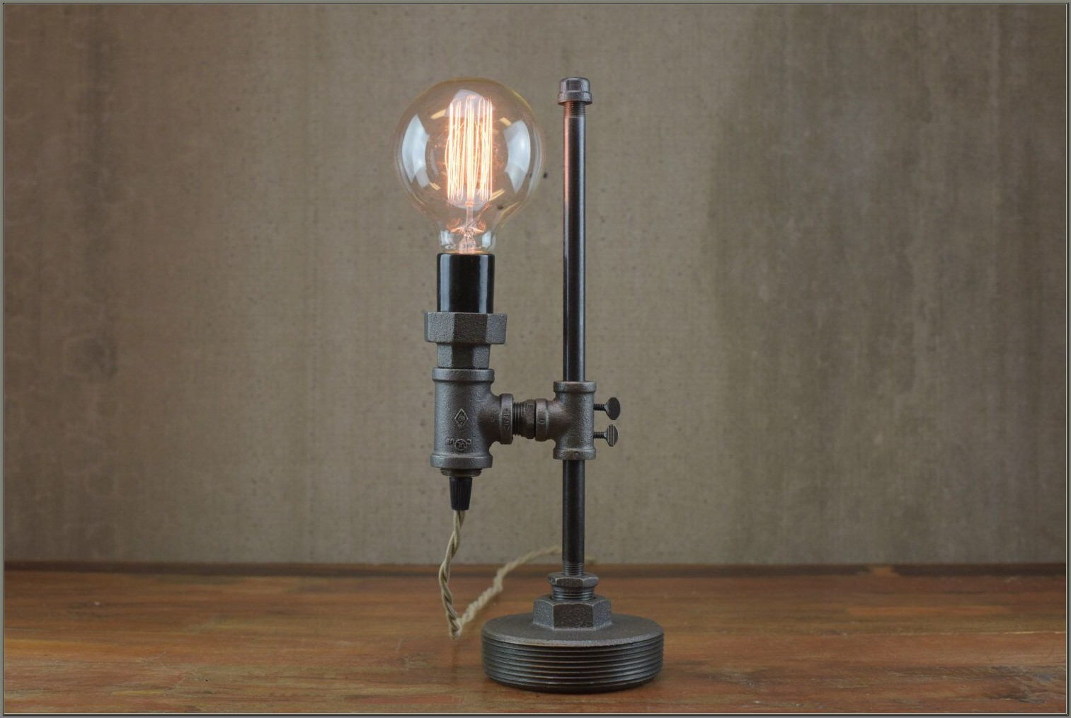 Edison Light Bulb Desk Lamp