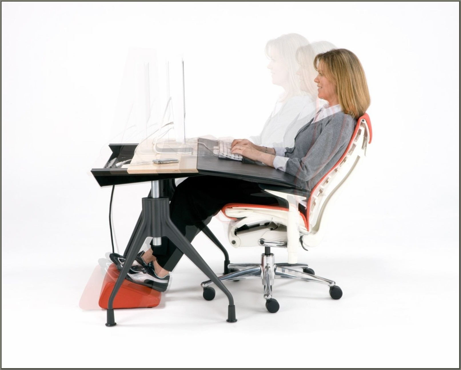 Ergonomic Computer Desk And Chair