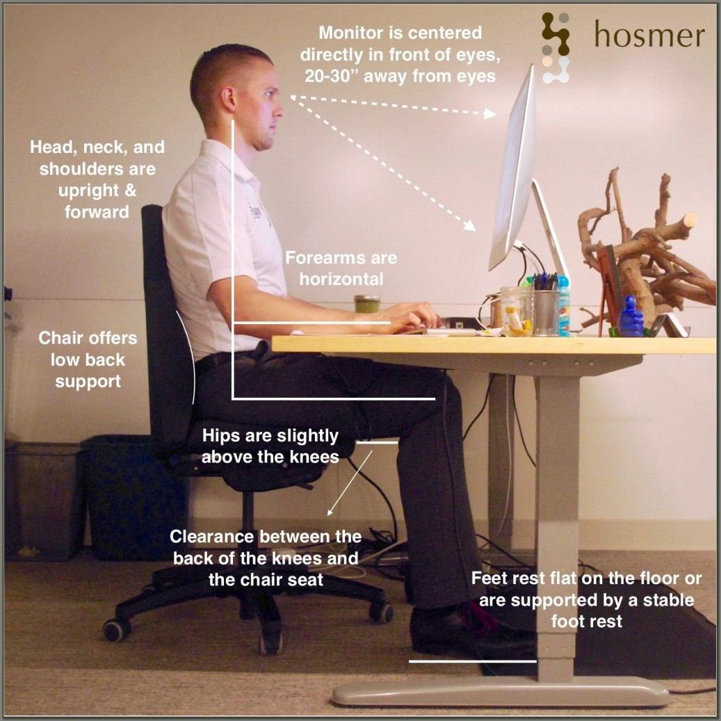 Ergonomic Desk Setup For Laptop