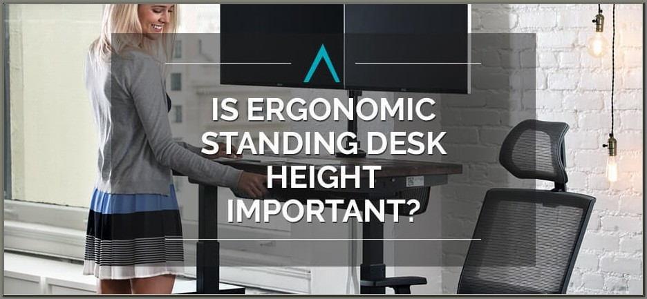 Ergonomic Standing Desk Height