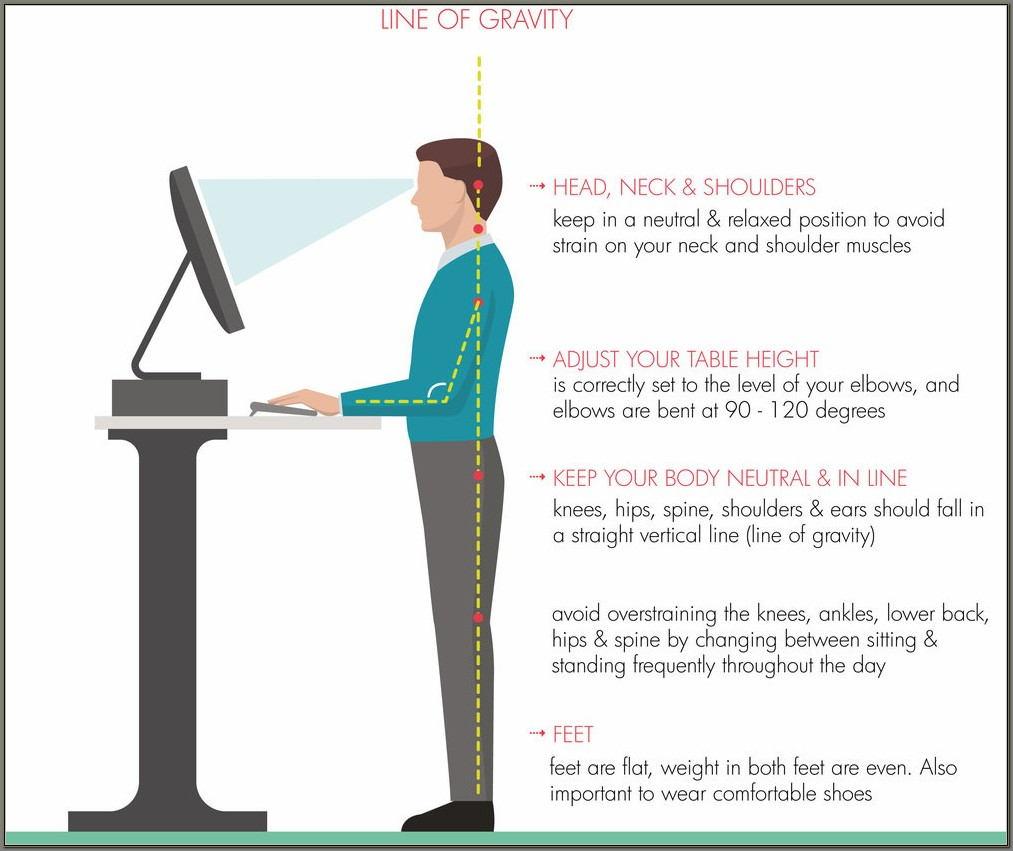 Ergonomics For Standing Desk