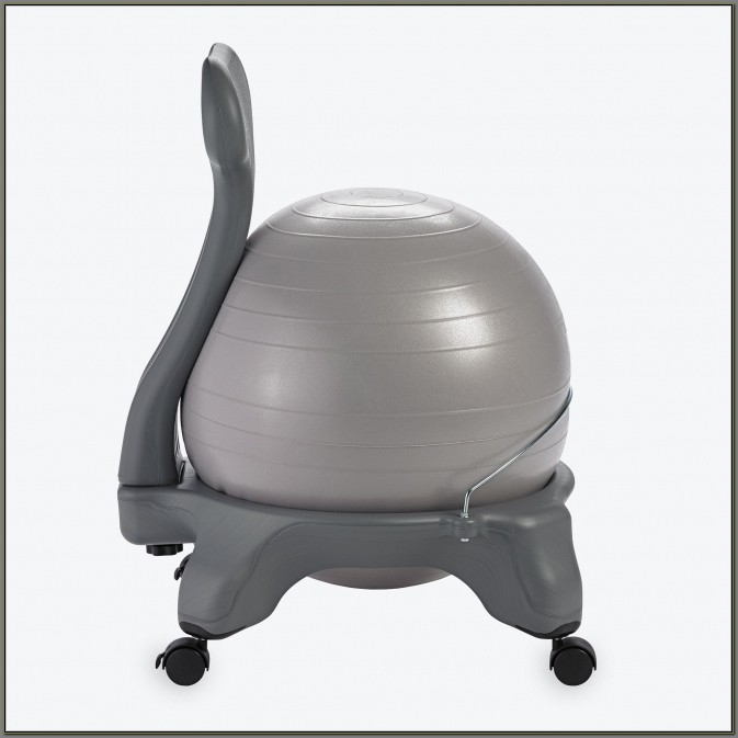 Exercise Ball For Desk Chair Size