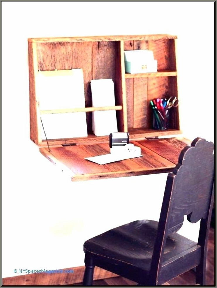 Flip Down Wall Desk