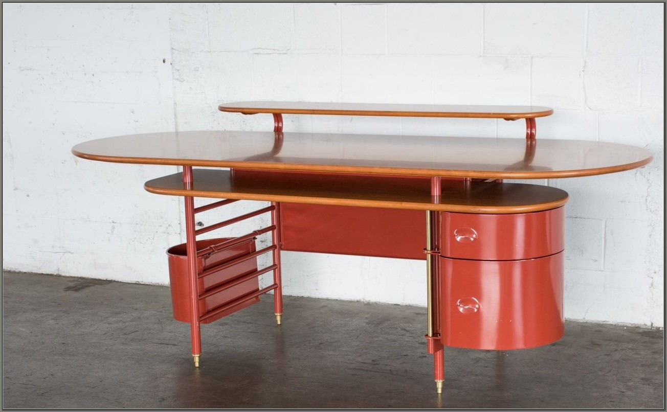 Frank Lloyd Wright Johnson Wax Desk