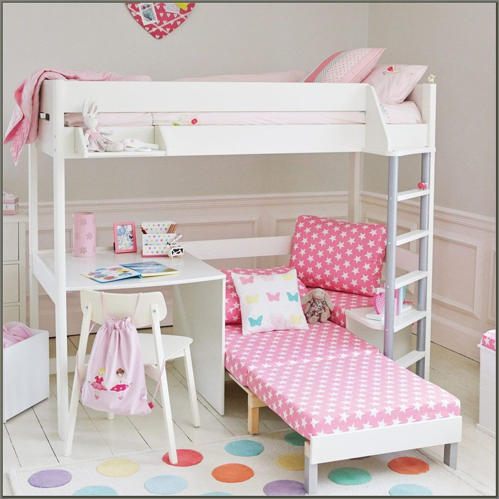 Girls Cabin Bed With Desk