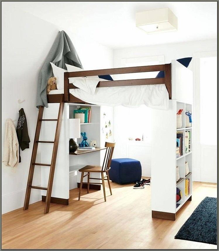 High Beds With Desks Underneath