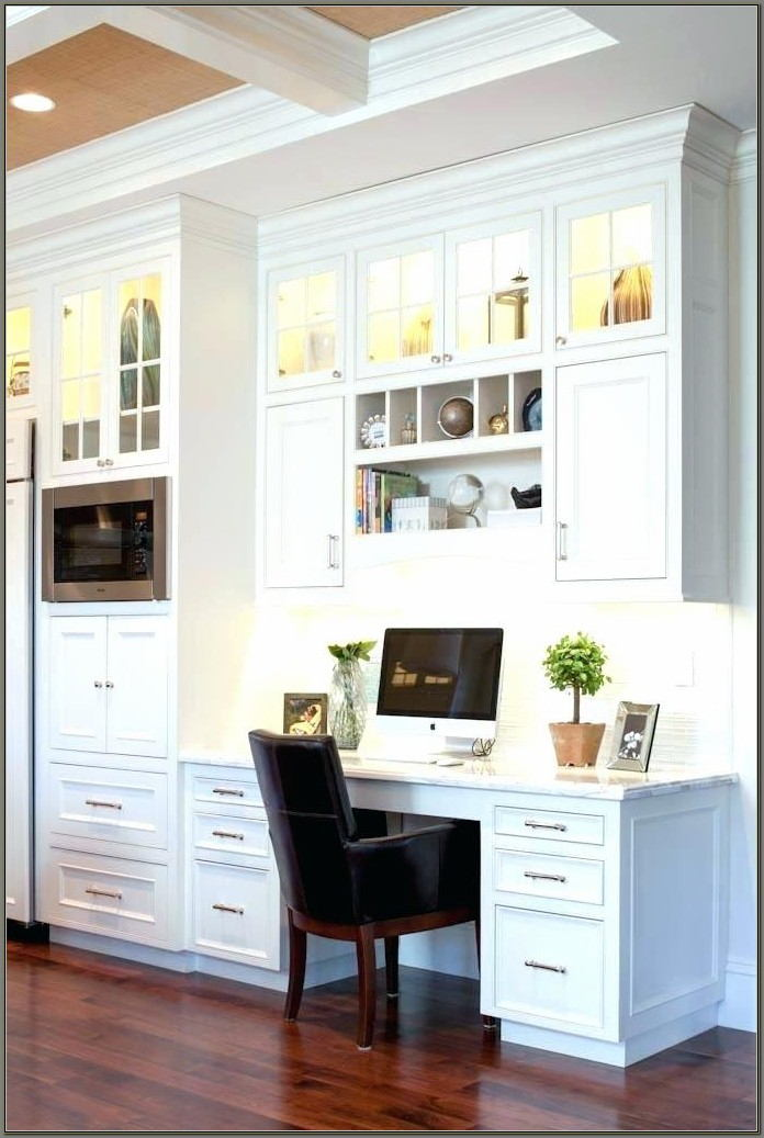 Home Office Built In Desk Ideas