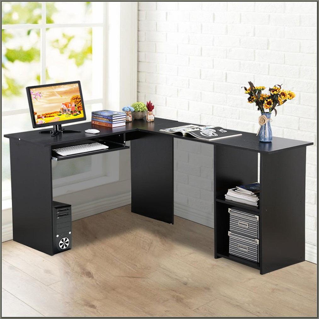 Home Office Corner Workstation Desk