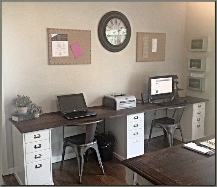 Home Office Desk Ideas For Two