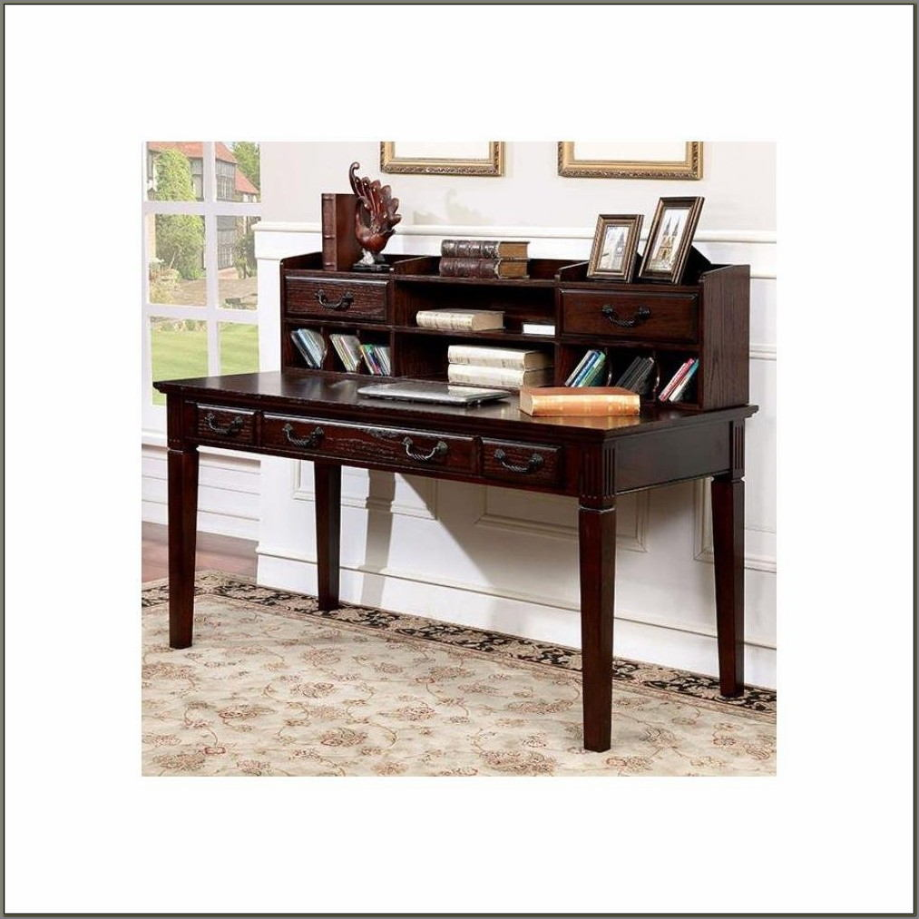 Home Office Desk With Hutch
