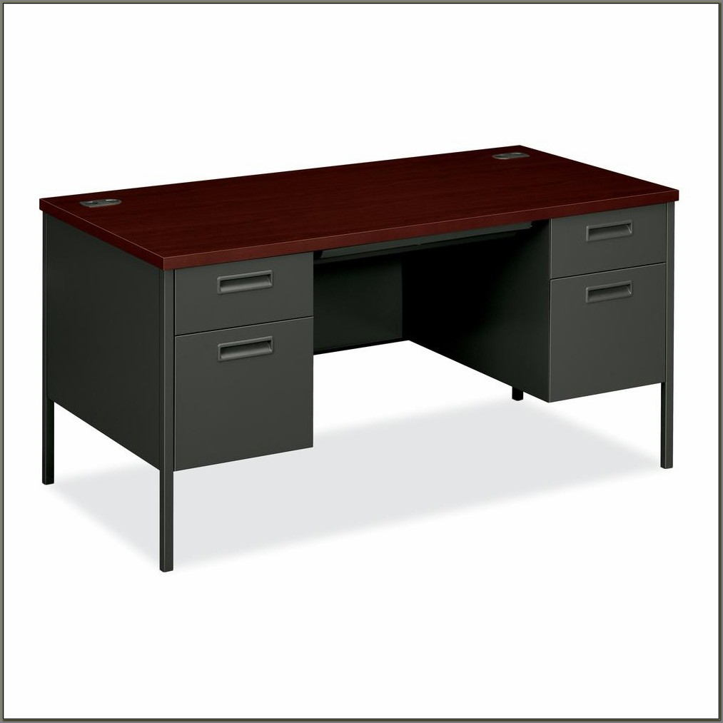 Hon Double Pedestal Desk