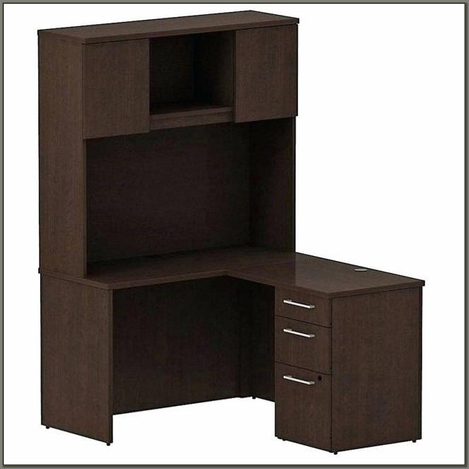 Hon L Shaped Desk With Hutch