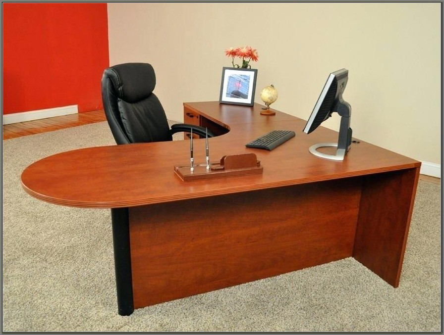 Hon L Shaped Desk With Return
