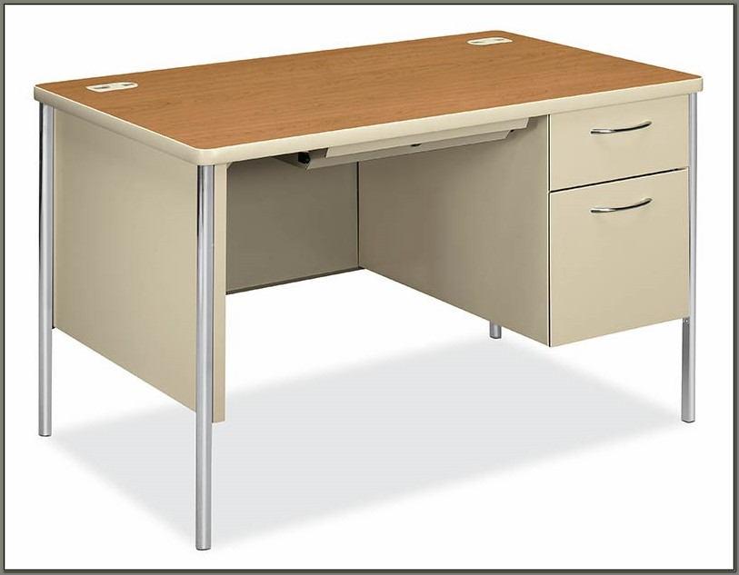 Hon Single Pedestal Desk
