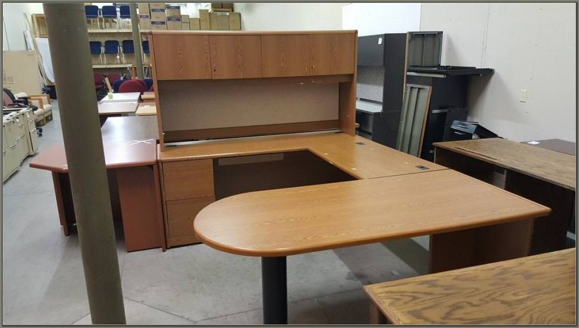 Hon U Shaped Desk