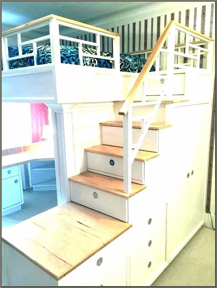 Ikea Bunk Bed With Desk Underneath