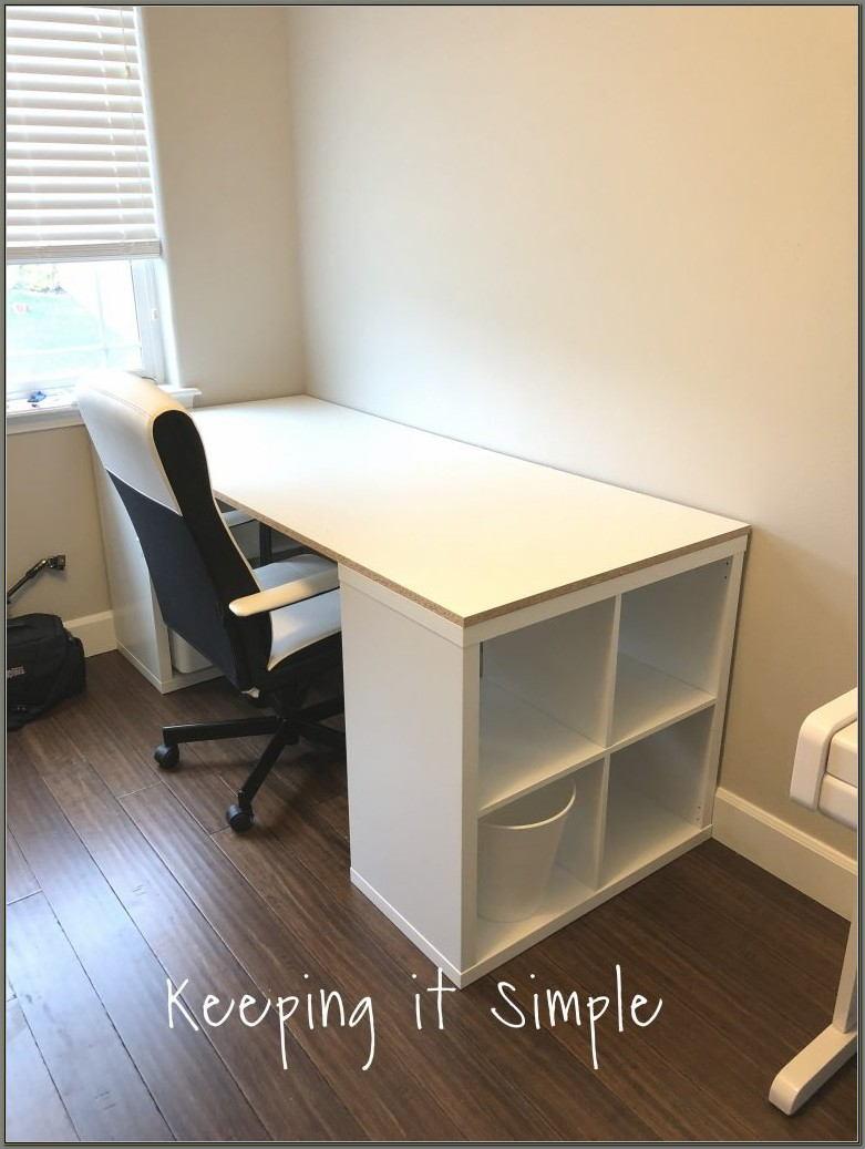 Ikea Computer Desk With Shelves