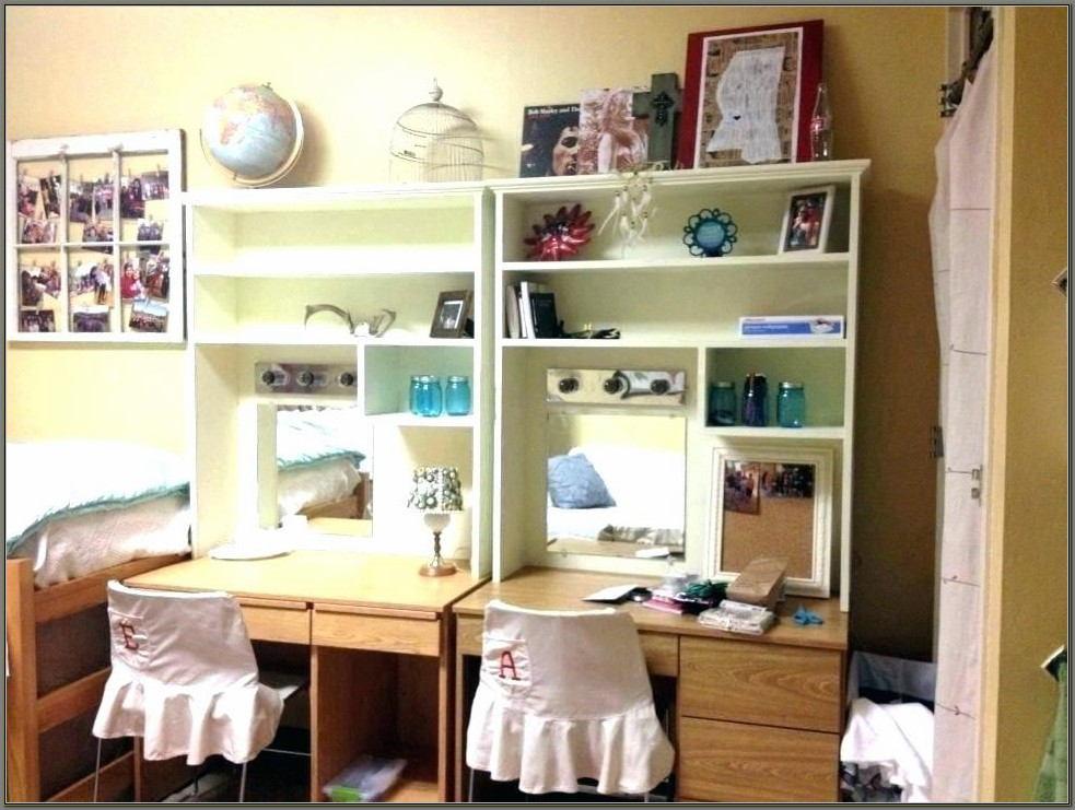 Ikea Desk With Shelves On Side