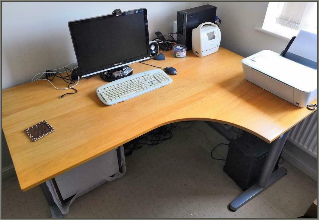 Ikea L Shaped Desk