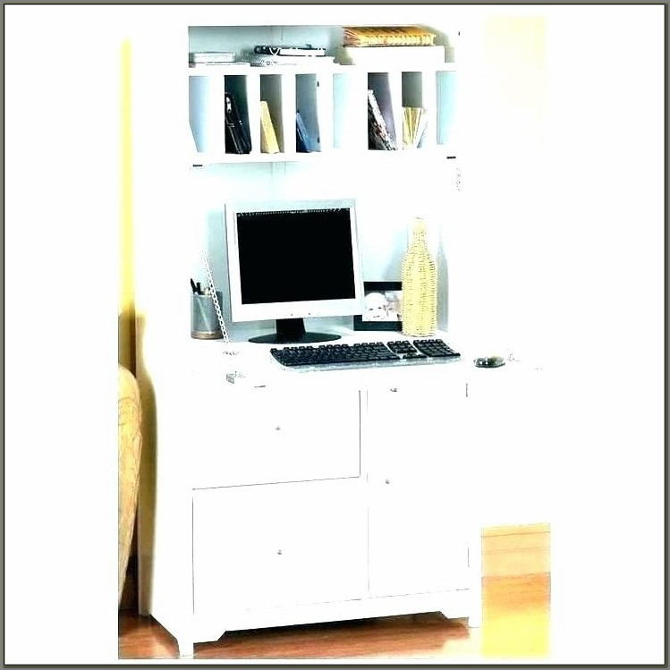 Ikea Secretary Desk With Hutch