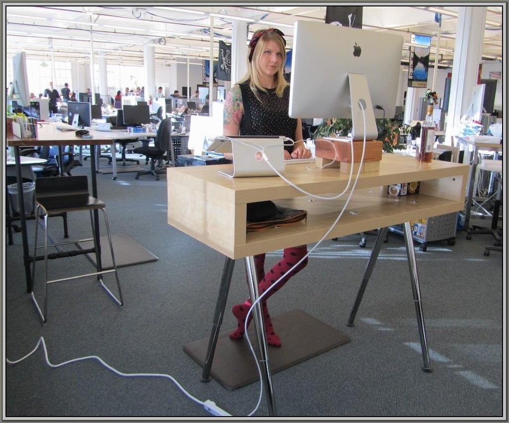 Ikea Stand Up Desk Kit
