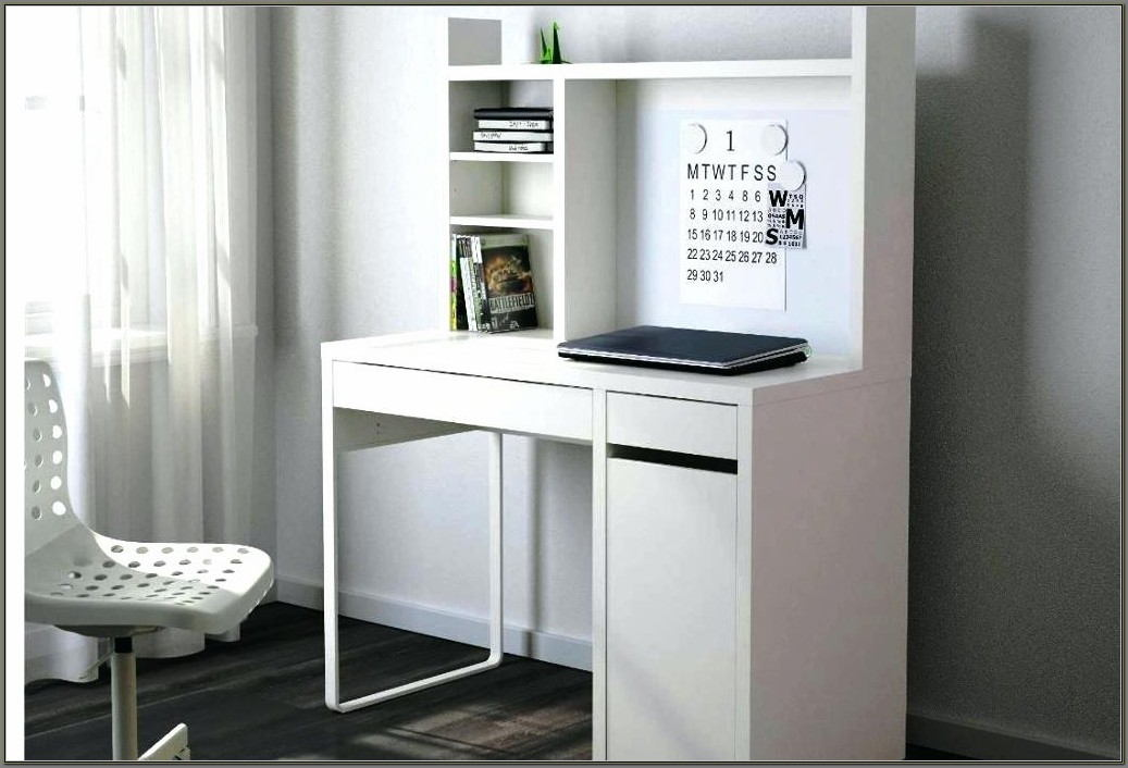 Ikea White Desk With Hutch