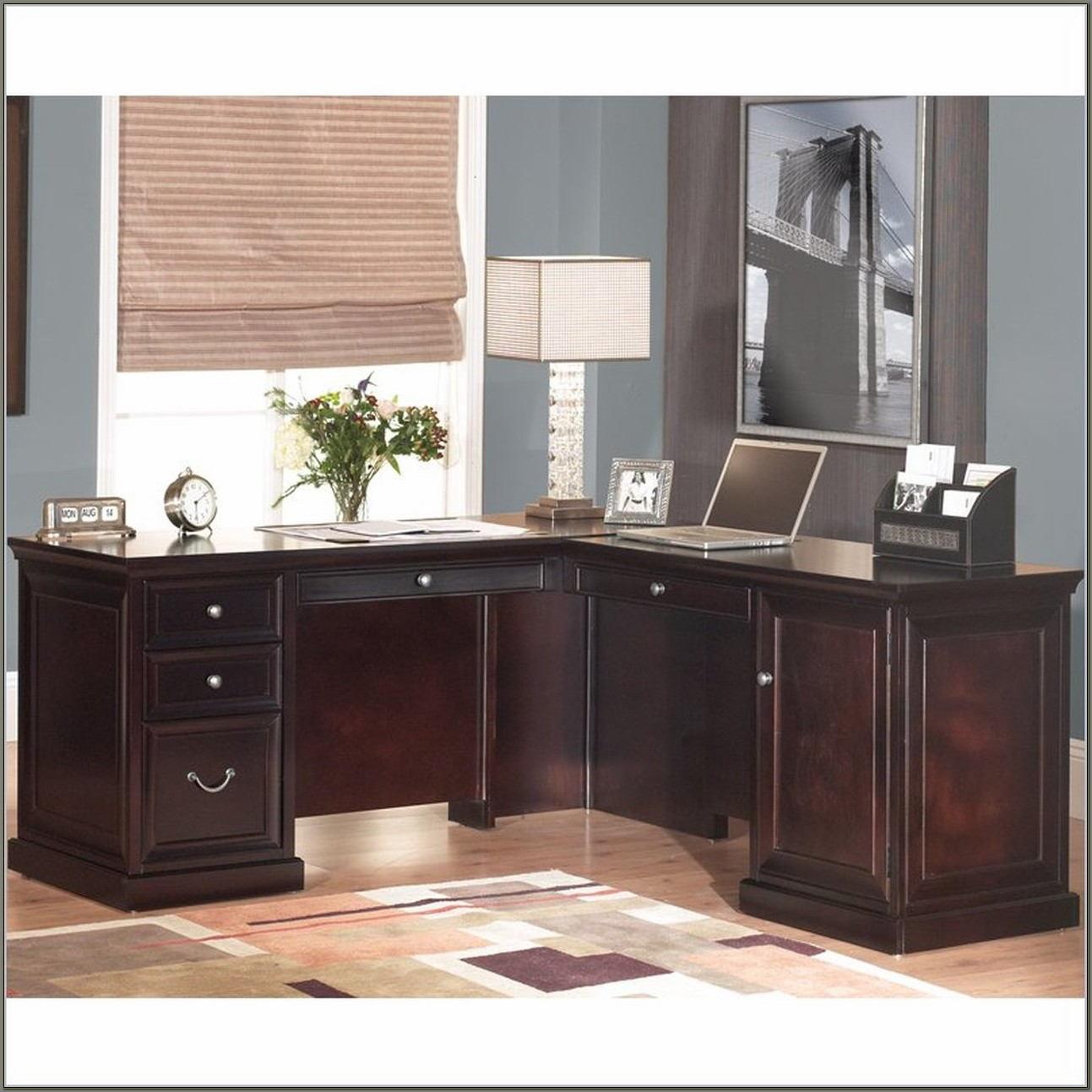 Kathy Ireland L Shaped Desk