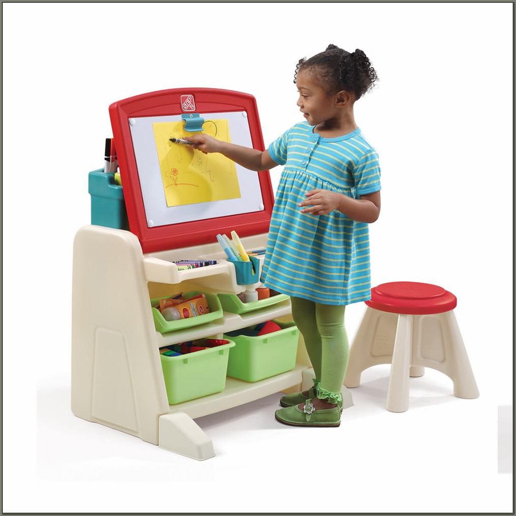Kids Art Easel Desk
