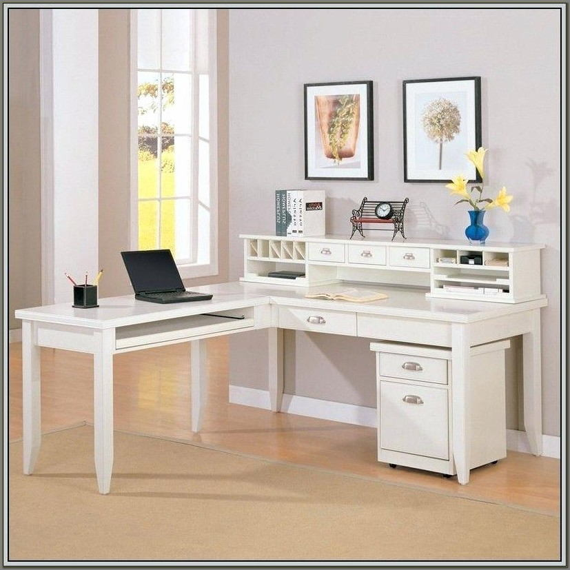 L Shaped Desk With Hutch Ikea