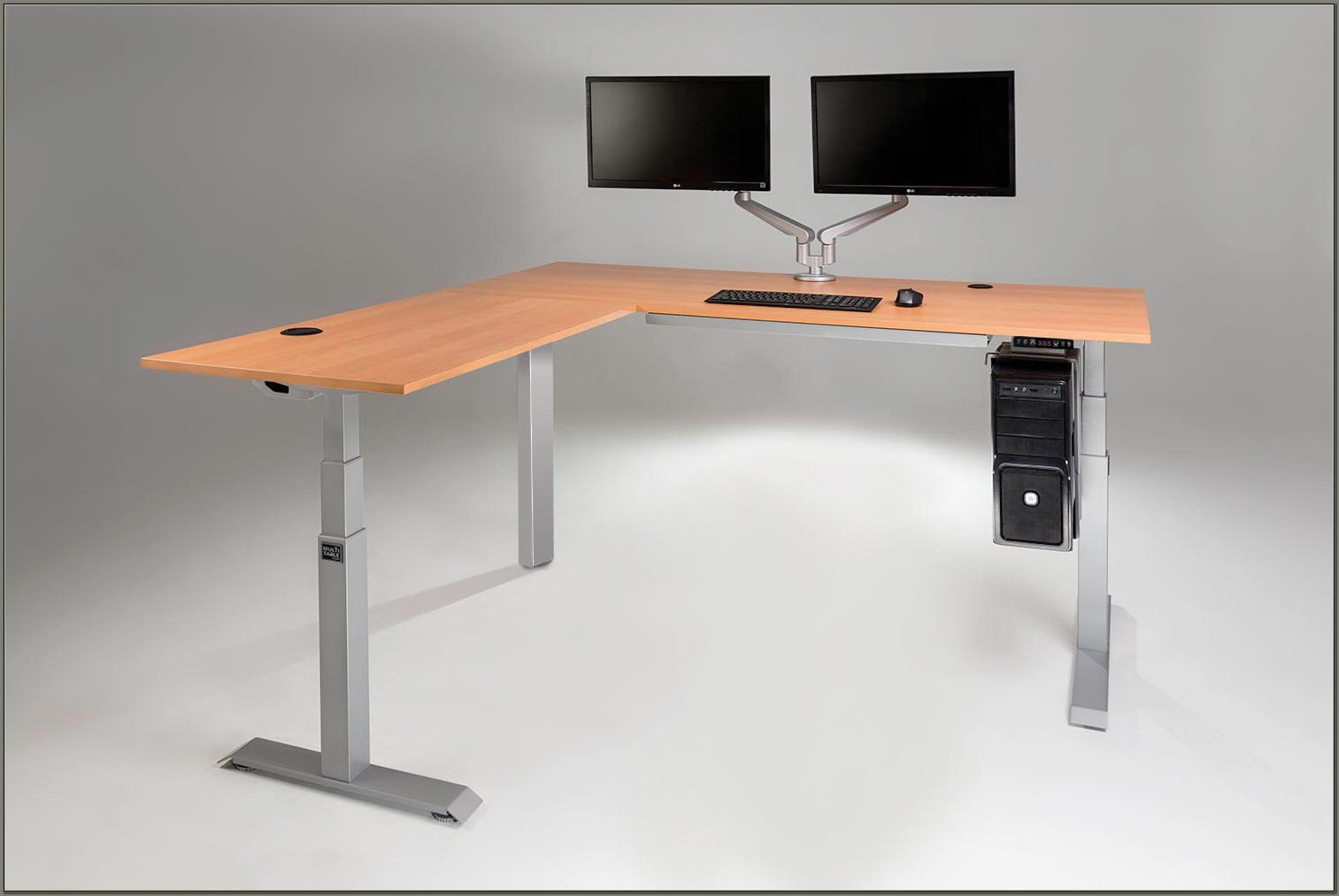 L Shaped Electric Standing Desk