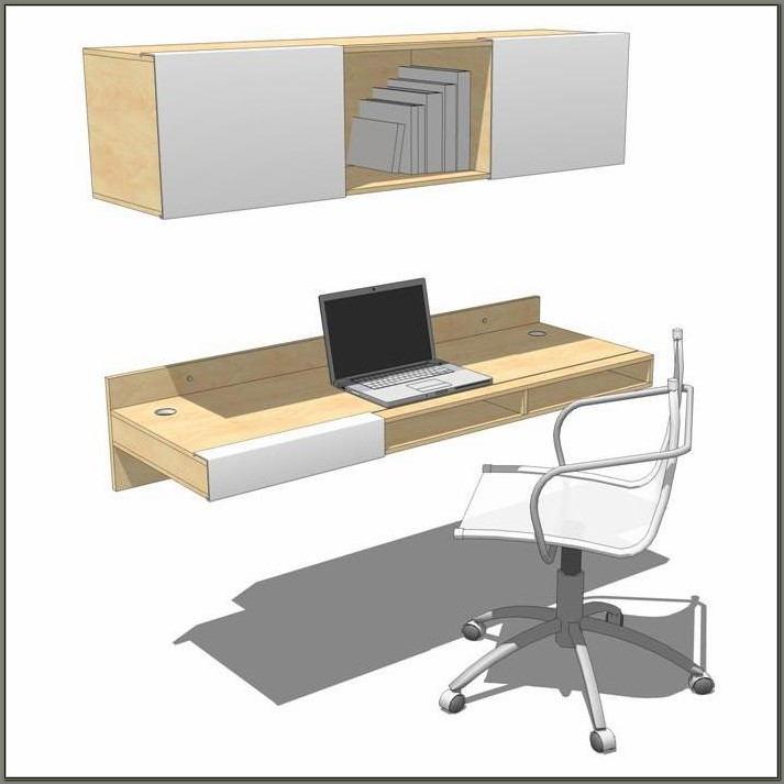 Lax Wall Mounted Desk
